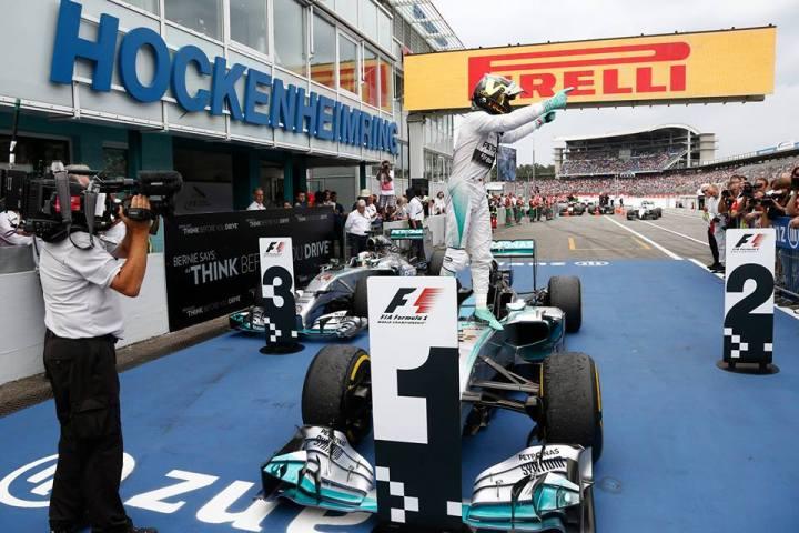 German Grand Prix: HomeVictory