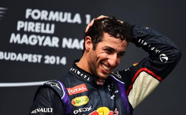 Hungarian Grand Prix: Ricciardo OnTop