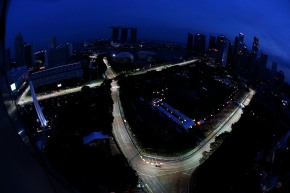 Marina Bay Circuit, Singapore.Friday 20th September 2013.Romain Grosjean, Lotus E21 Renault.Photo: Glenn Dunbar/Lotus F1 Team.ref: Digital Image _89P6384