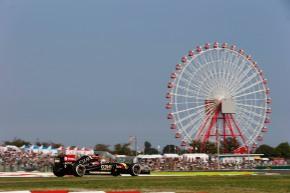 Suzuka Circuit, Suzuka, Japan. Friday 3 October 2014.Romain Grosjean, Lotus E22 Renault.World Copyright: Steven Tee/Lotus F1.ref: Digital Image _L4R0308