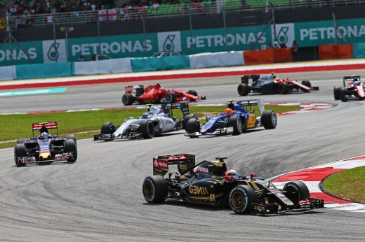 Images Courtesy of Lotus F1 Team