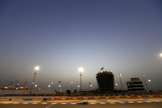 Photo courtesy of Lotus F1 Team