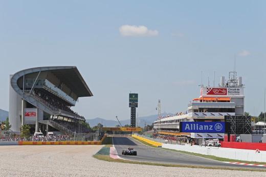 Pastor Maldonado (VEN) Lotus F1 E23. Spanish Grand Prix, Saturday 9th May 2015. Barcelona, Spain.