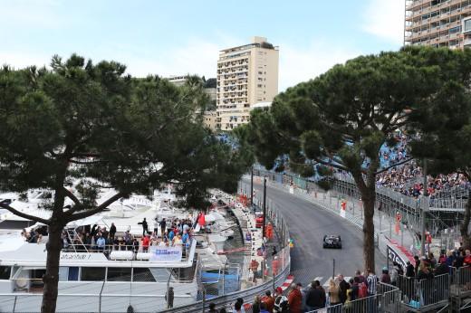 Pastor Maldonado (VEN) Lotus F1 E23. Monaco Grand Prix, Thursday 21st May 2015. Monte Carlo, Monaco.